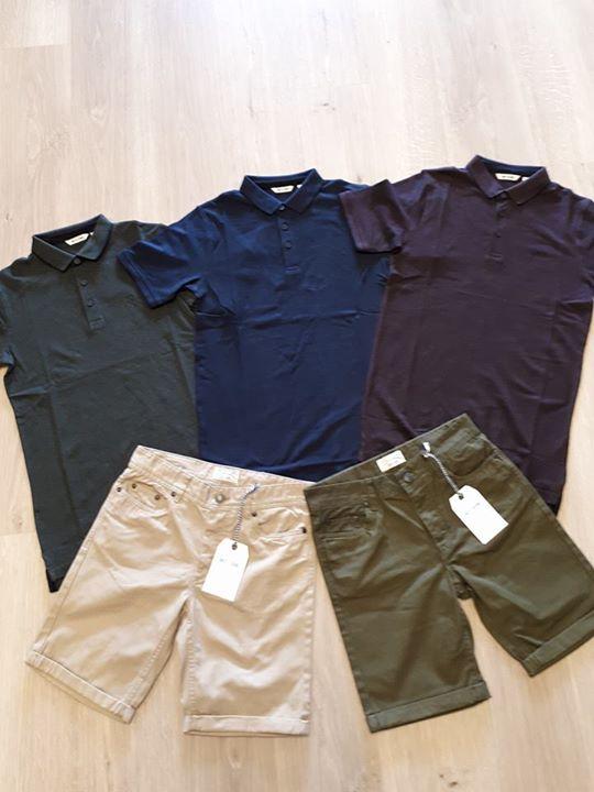 Aktie!!! 1 Korte broek + Polo Only&Sons! Diverse kleurtjes. Samen 39,95