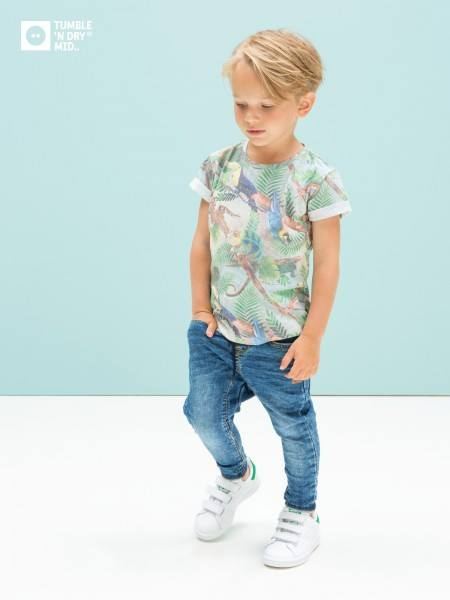 De eerste shirts en vesten van Tumble N´ Dry voor de kleine jongens...... Gaaf!!