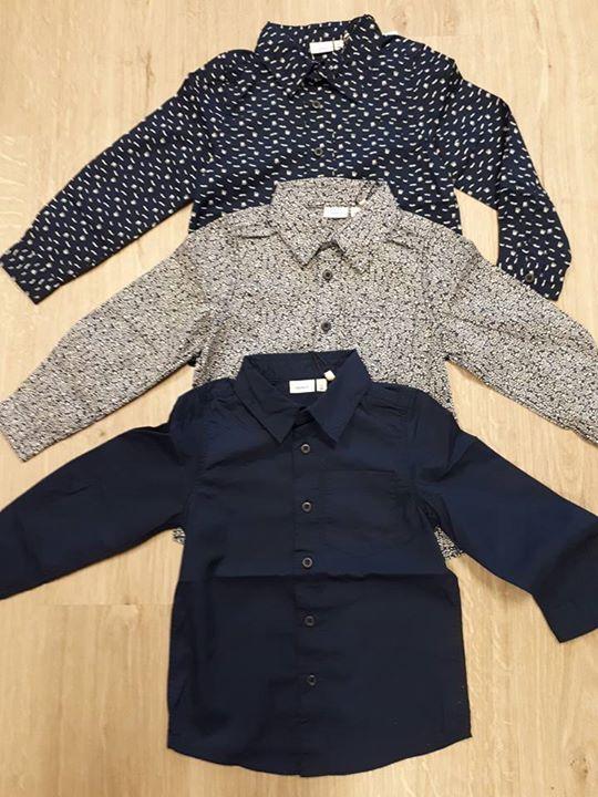 Deze geweldige blouses van Name-it vanaf maat 104 t/m 152 liggen nu in onze wink...