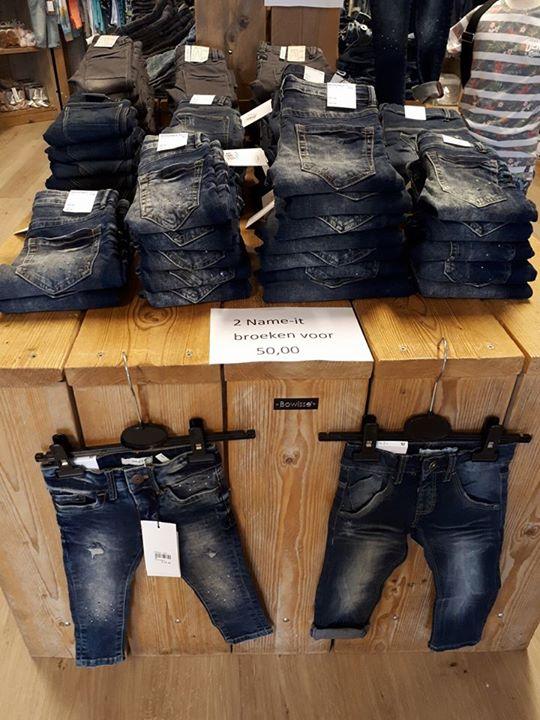 Name-it jeans voor de jongens vanaf mt 92 t/m 164.  2 stuks voor 50 euro!