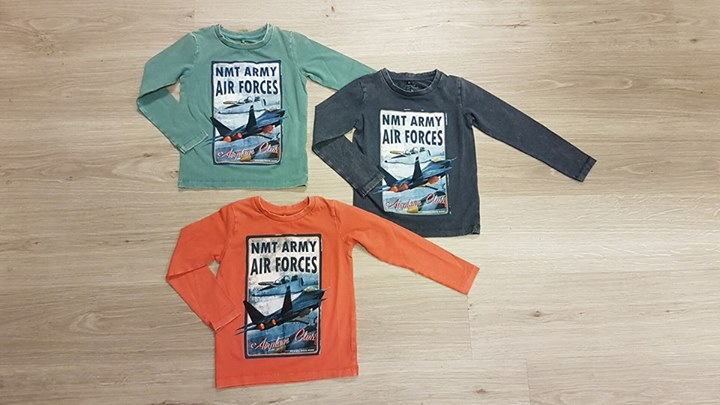 Name-it shirts voor de boys!  € 19,99 p.s.  Maat 104 t/m 146-152