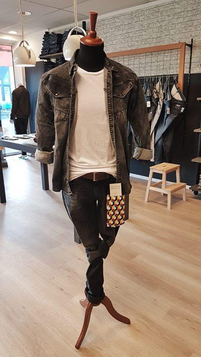NEW: Stretchy spijkerblouse van Gabbiano! Maat S t/m XXL € 59,95 p.s.