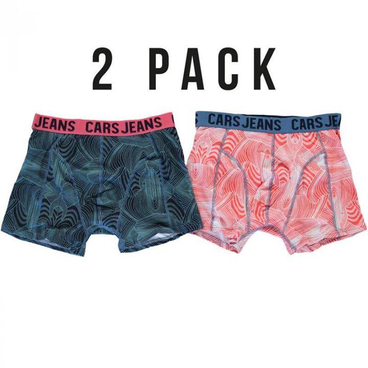 NIEUW BINNEN!!!!  Boxershorts van CARS JEANS.  2 pack voor €16,99 in maat S t/m ...