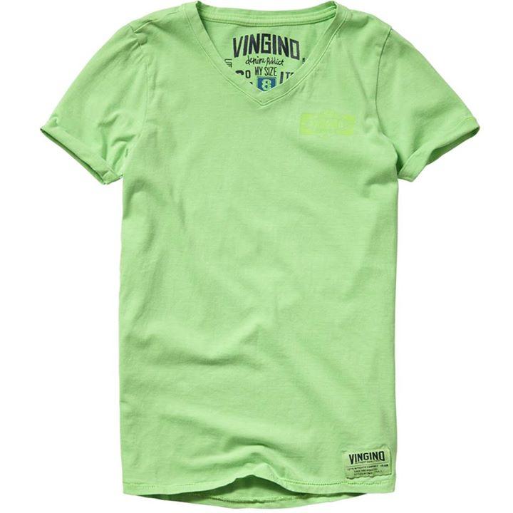 Ze zijn er weer...... Basisshirts van VINGINO in de kleuren Neon Green, Neon Yel...