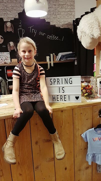 Daphne won tijdens onze jubileumweek een LoveStation22 jurkje naar keuze!  Deze ...