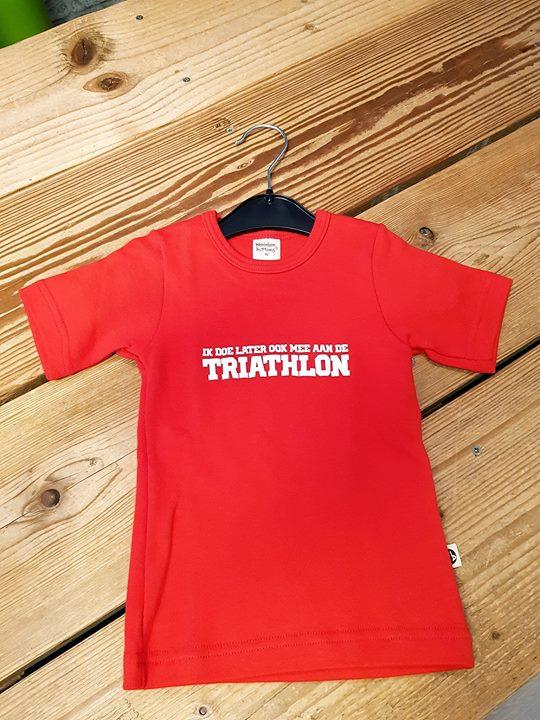 ️ De laatste Triathlon t-shirtjes voor de kids, nu voor maar € 5,- p.s. !!! ️  M...