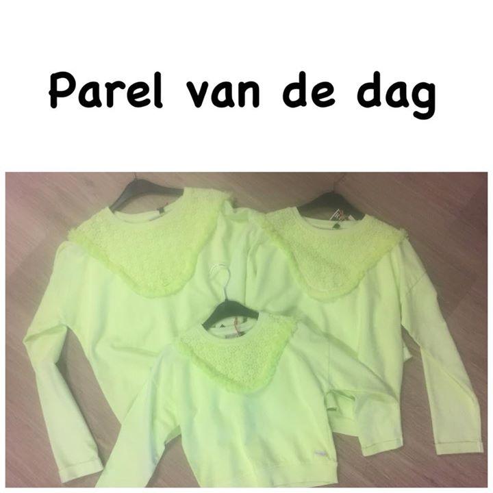 Parel van de dag!!!  De laatste truien van retour van €49,95 nu voor €15,- Nog i...