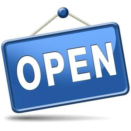 Morgenmiddag extra geopend vanaf 13.00 uur