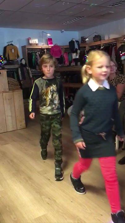 De Kids Fashionshow was een succes!   Een speciaal bedankje voor onze modellen: ...